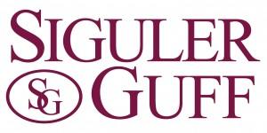 Siguler Guff Logo (Full) Maroon