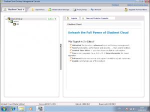 screenshot of Gladient Cloud Desktop