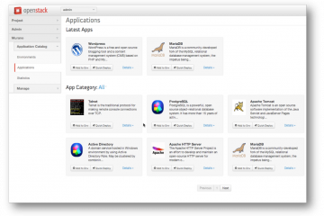 OpenStack Murano Dashboard