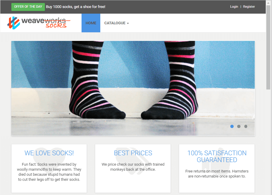 Kubeadm makes it easy to get a cluster on which to install the Sock Shop app.
