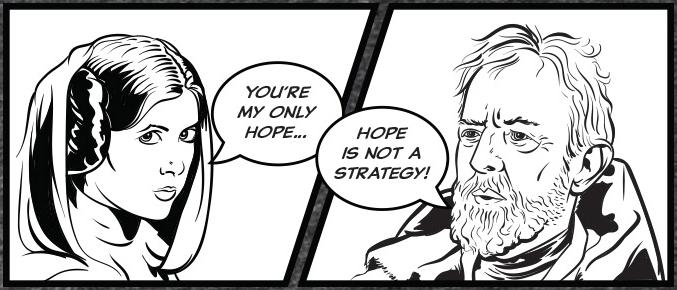 hopeisnotastrategy