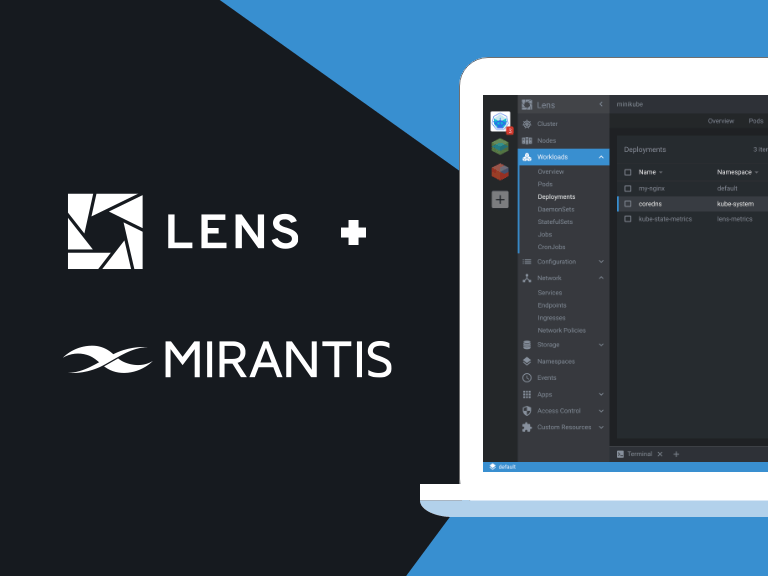 Working with multiple Kubernetes clusters in Mirantis Container Cloud and Lens