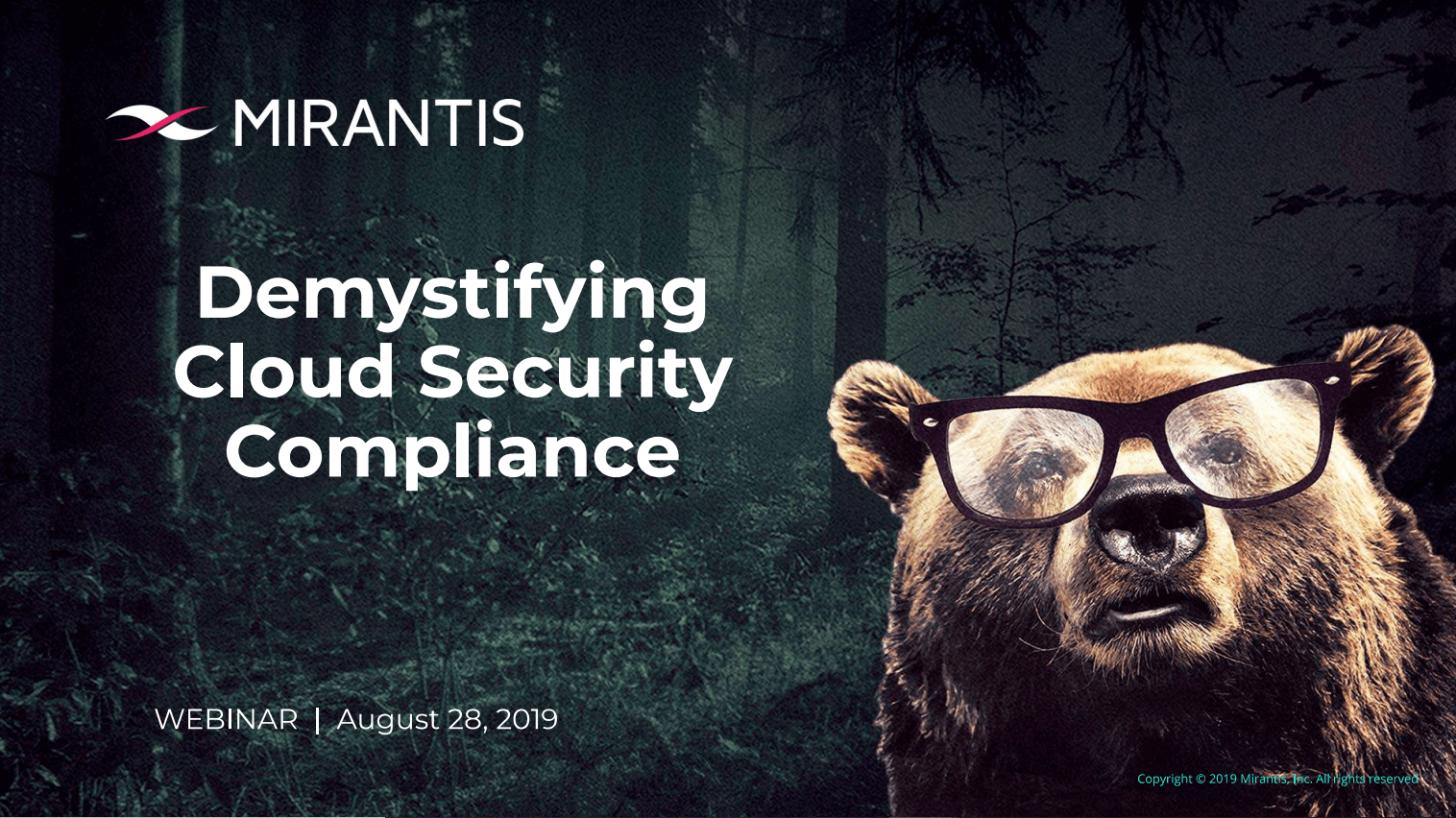 Download Demystifying Cloud Security Deck