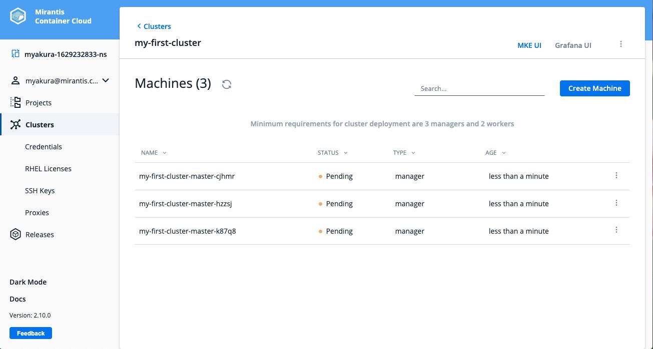 manager nodes